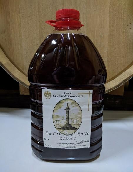 Caja Vino Rosado - 5L (Caja 3u)