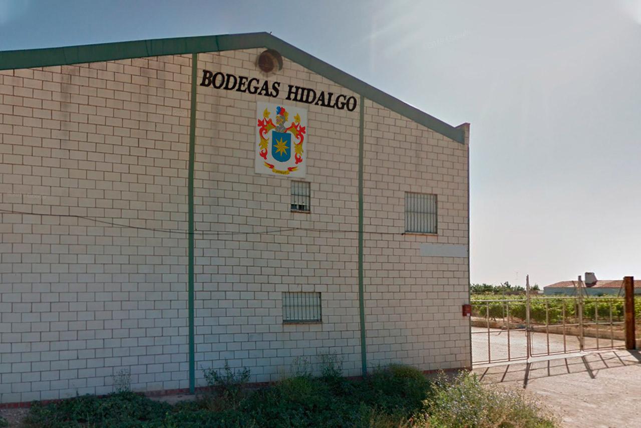 Instalaciones de Bodega Hidalgo en Bienvenida (Badajoz)